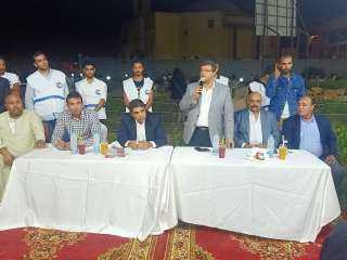 كرم رحيل يقيم مؤتمرا حاشدا لتأييد سليمان والحناوي مرشحي مستقبل وطن بالشروق