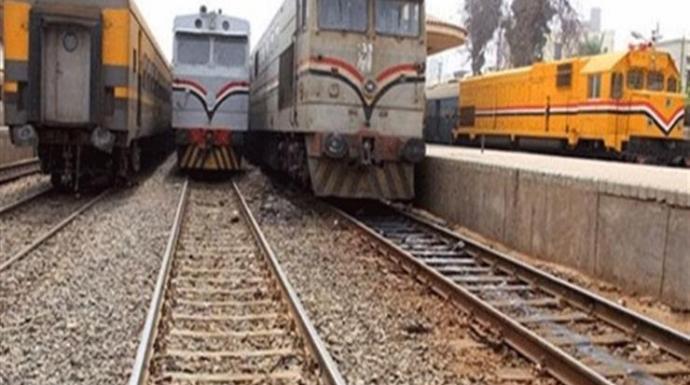 السكة الحديد توضح أسباب تعطل قطار القاهرة المنصورة
