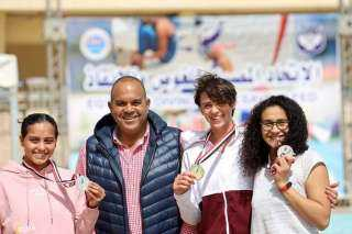 اتحاد الغوص والانقاذ ينظم مهرجان السباحة بالزعانف بمناسبة أعياد تحرير سيناء