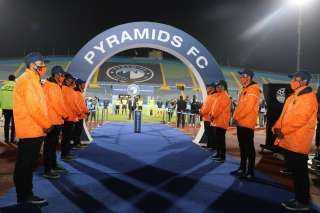 الافريقية للأمن والحراسة تؤمن مباراة بيراميدز و ونامونجو التنزانى