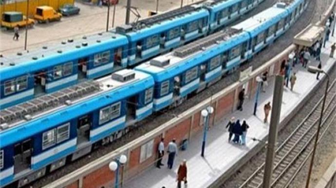 تعديل مواعيد المترو بسبب أعمال توسعة الطريق الدائري أعلى محطة المرج