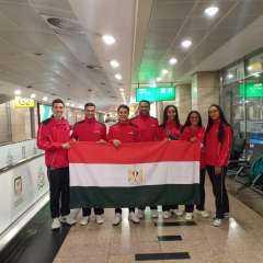 بعثة منتخب مصر للسباحة بالزعانف تغادر إلى إيطاليا للمشاركة في بطولة العالم للناشئين
