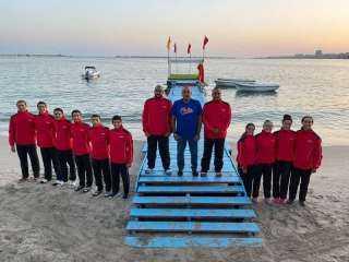 بعثة منتخب مصر للسباحة بالزعانف تستعد للسفر للمشاركة في بطولة العالم بكولومبيا