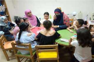 تذوق بصري وورش فنية للأطفال بقصر ثقافة القليوبية