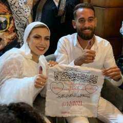 ألف مبروك.. عقد قران الآنسة ياسمين ندا ومصطفى الحلواني